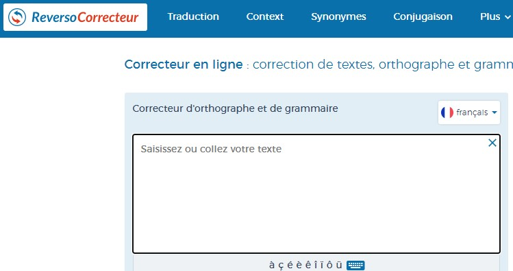 Correcteur D'orthographe Francais Word Reverso
