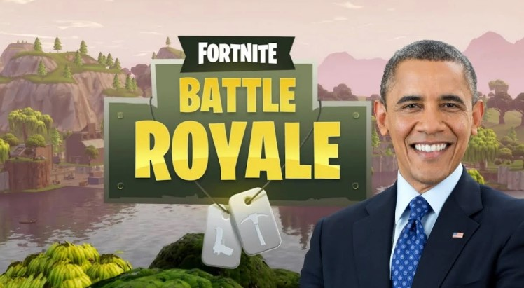 Barack Obama Fortnite Academy Tijuana Baja California Mexico