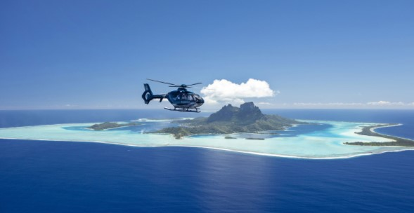 Experiencing Helicopter Tour