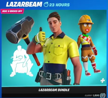 Grab the Lazarbeam Skin Now!