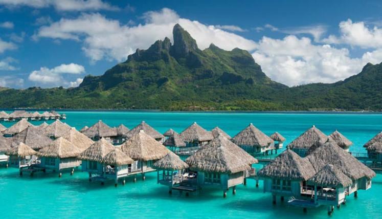 Luxury Honeymoon At St Regis Bora Bora From Bora Bora Website