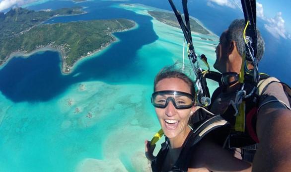 Skydiving VIP Honeymoon Package