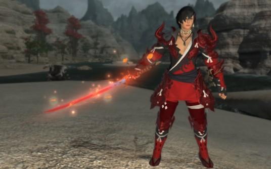 samurai FFXIV Job