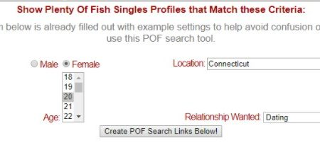 search pof by email