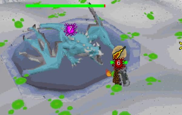 Acid pool quickfire barrage