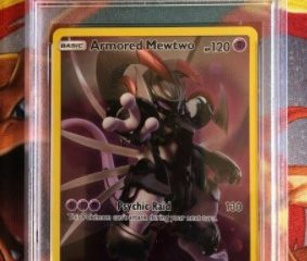 Armored Mewtwo SM228 Pokemon Collector's Chest Promo Card - Grade PSA 9 or 10