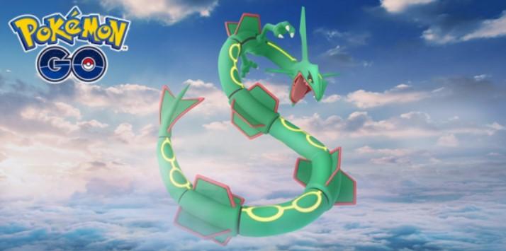 How to Get Shiny Rayquaza in Pokémon Go