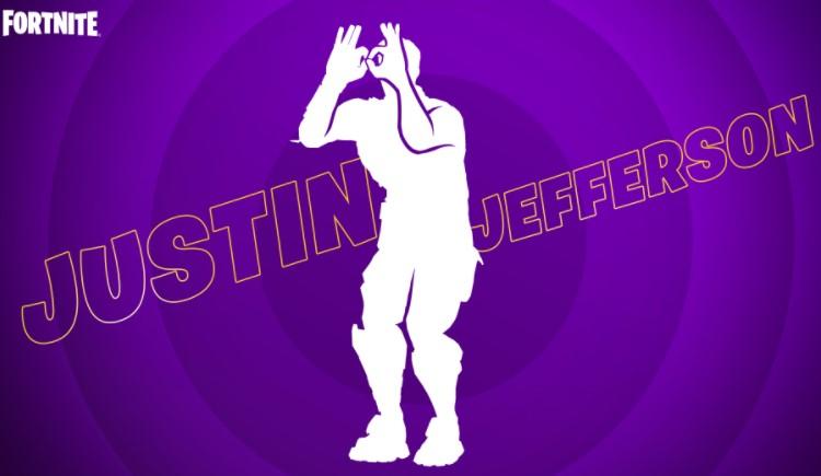 Justin Jefferson Fortnite Dance