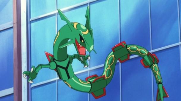 Mega Evolve Rayquaza Pixelmon Generations