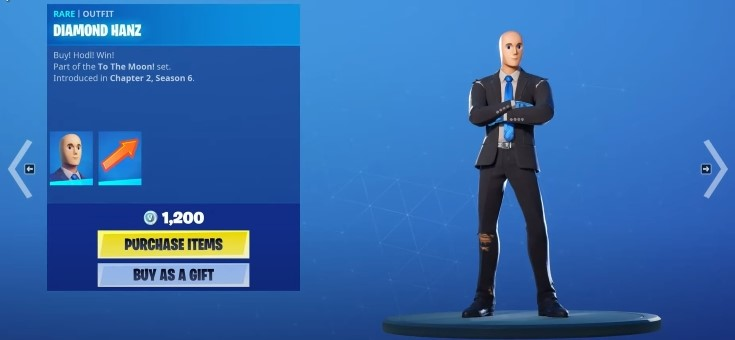 Mr. Stonks Skin, How to Get it