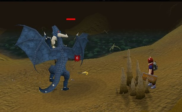 OSRS Blue Dragon Weakness