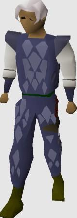 OSRS Blue Dragonhide Armor