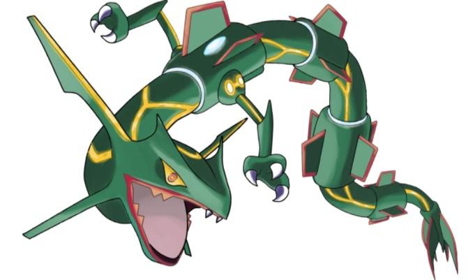 Rayquaza Won't Mega Evolve with Dragon Ascent