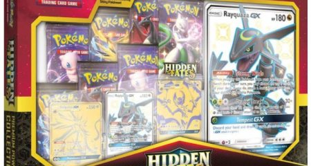 Shiny Rayquaza GX Box Hidden Fates