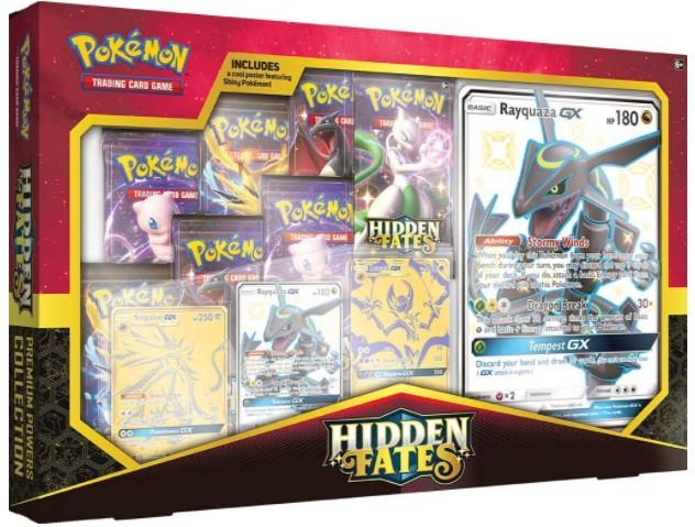 Shiny Rayquaza GX Box Hidden Fates