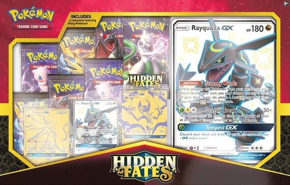 Shiny Rayquaza GX Hidden Fates Price