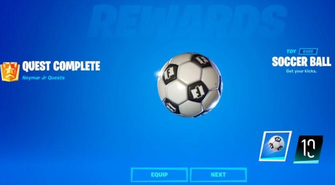 Soccer Ball Toy and Neymar Jr. Banner.