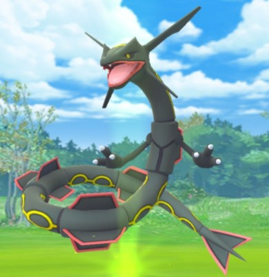 What Is Shiny Rayquaza
