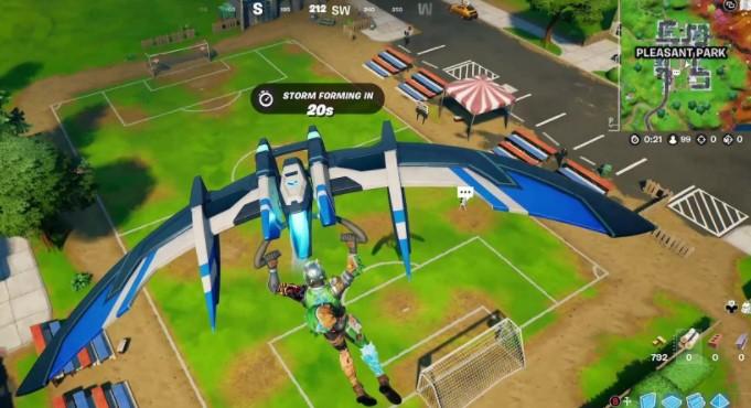 pleasent park fortnite soccer