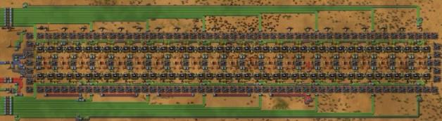 Blue circuit 1x blue belt output (Processing units)