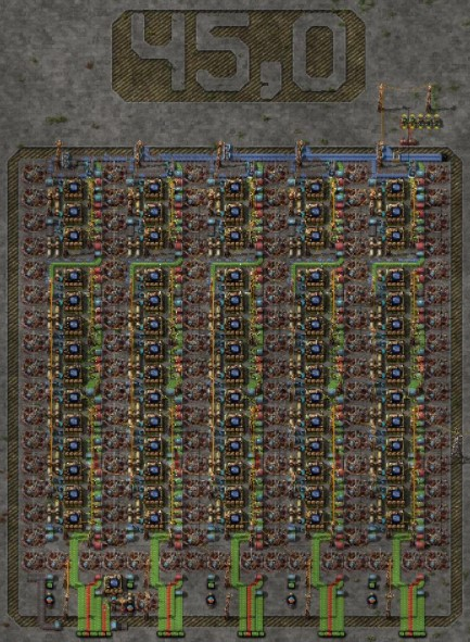 Compact Blue Circuit Production (Processors)