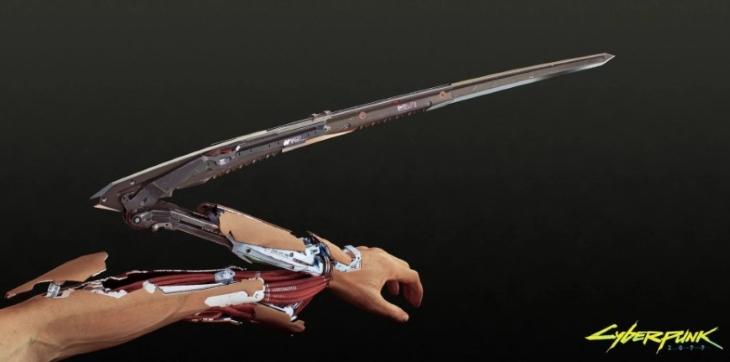 Cyberpunk 2077 Mantis Blade Mods
