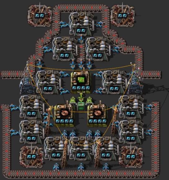 Efficient green circuit machine