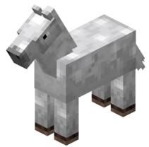 Horses adult in minecraft
