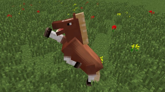 Minecraft Horse Breeding for Jumping