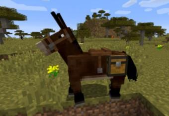 Mules horse minicraft