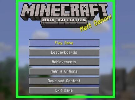 open Minecraft.