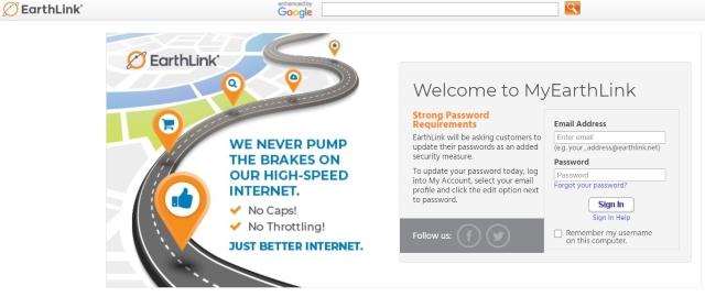 Access Earthlink Webmail