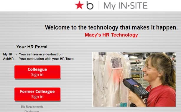 Macys Insite Former Employee
