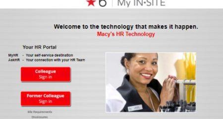 Macys Insite HR