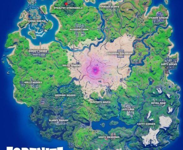 The Location of Predators Mysterious Pod