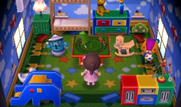ACNH Stitches House In New Leaf