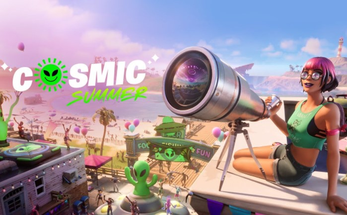 About Fortnite Cosmic Summer Quests