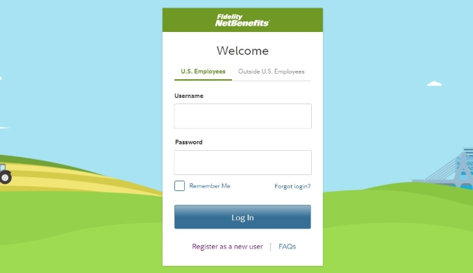 Access the official site of Fidelity NetBenefits2
