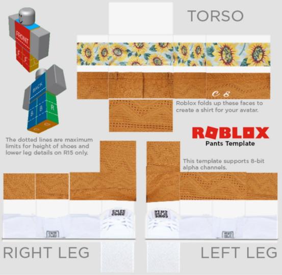 Aesthetic Roblox Shirt Template Transparent Image