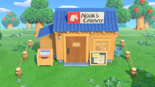 Appearing after building Nook's Cranny