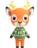 Beau Lazy Villagers in Animal Crossing