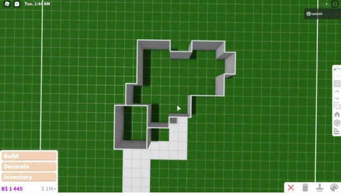 Choose area to build a house