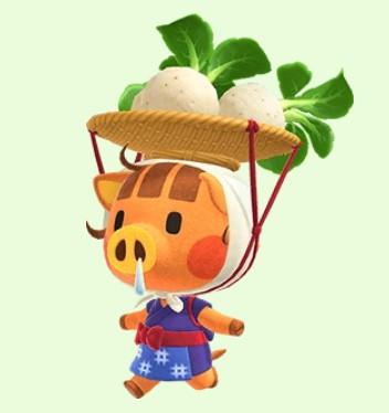 Daisy Mae in Animal Crossing