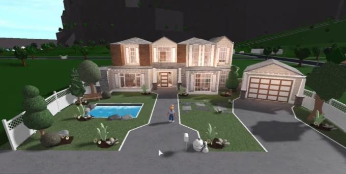 Exllie entitled 50k Light Roleplay House – Bloxburg Build