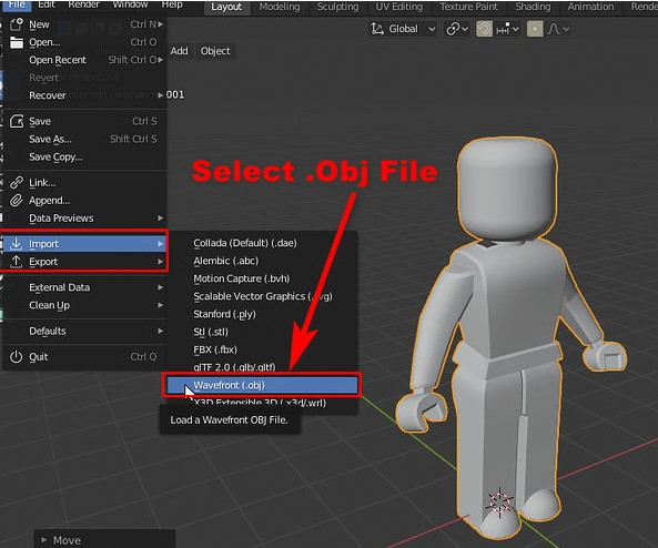Export import Objects from Roblox Studio to Blender