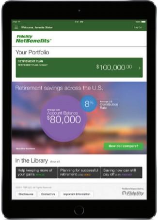 Fidelity NetBenefits app