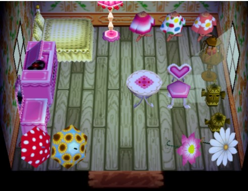 House Owned by Midge in Animal Crossing