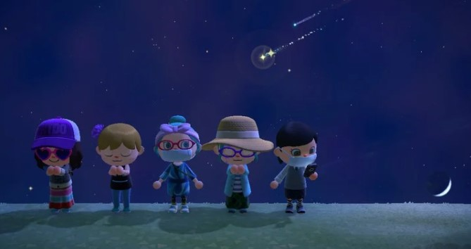 Inviting Friends for Meteor Shower