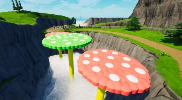 Mushroom Gorge Map
