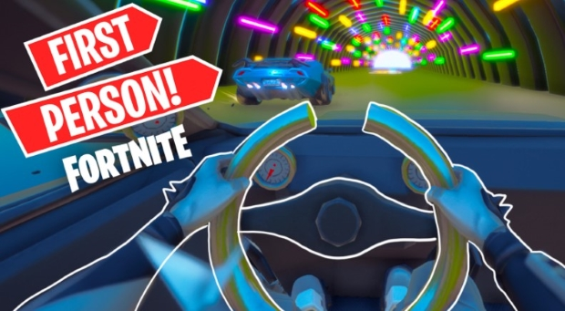 New First Person Race Track
